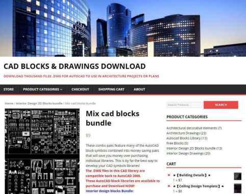 Mix cad blocks bundle-AutoCAD Blocks   AutoCAD Symbols   CAD Drawings   Architecture Details│Landscape Details