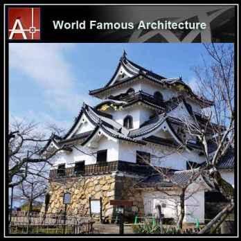 Hikone Castle Sketchup 3D model